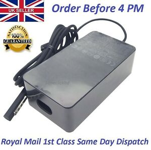 Brand New Genuine OEM Microsoft Surface Pro 2  AC Adapter Charger 43W 12V 3.6A