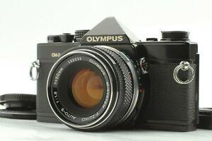 Rare Lens [EXC+5] OLYMPUS OM-2N Black + M-SYSTEM F.ZUIKO 50mm f/1.8 From JAPAN
