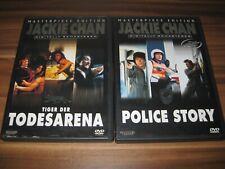 Jackie Chan Eastern FSK 18 DvD Paket Sammlung Tiger der Todesarena+Police Story