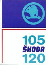 Skoda 105 S L GL 120 L LS GLS French market sales brochure