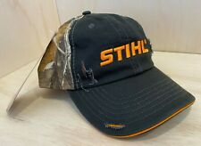 Stihl Realtree Camo All Fabric Hat / Cap w Embroidered Logo Adjustable