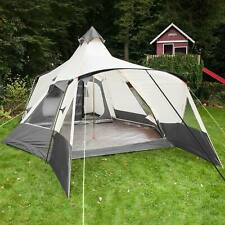 Skandika Navaho Tente Familiale Tipi  indien Camping 5 Pers. Gris NEUF