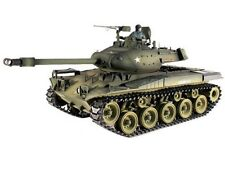 1:16 Taigen US M41 Walker Bulldog RC Tank Smoke & Sound 2.4GHz Metal Gear Tracks