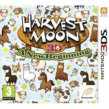 Harvest Moon: A New Beginning (Nintendo 3DS, 2013)