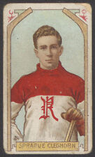 1911-12 C55 IMPERIAL TOBACCO #24 SPRAGUE CLEGHORN HALL OF FAME ROOKIE CARD