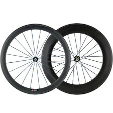 88 mm 50 mm ANTERIORE POSTERIORE CARBON ROAD WHEELS RACE bicicletta in carbonio ASSALE cinese