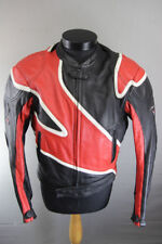 FRANK THOMAS COWHIDE LEATHER ARMASPORT BIKER JACKET WITH BACK PROTECTOR 42 INCH