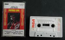 ELVIS PRESLEY  Burning Love and Hits From His Movies  Cassette   RARE