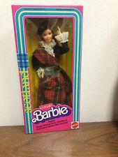 BARBIE SCOTTLAND MATTEL 3263 MIB NRFB 4UNOW2DAY