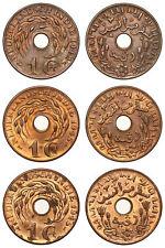 Netherlands Indies - Lot 1 Cent 1942, 1945, 1945 - Mooie Kwaliteit