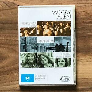 Woody Allen Collection 3 DVD - Purple Rose of Cairo/Manhattan/Hannah Region 4