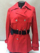 Tommy Hilfiger Women's coat, trench  HAYDEN STRECH red or navy blue