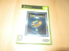 XBOX ORIGINAL LORD OF THE RINGS THE FELLOWSHIP OF THE RING (PAL) NEW & SEALED