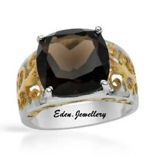 US$290 Stylish Ring With 7.05ctw Genuine Topaz in 14K/925 Gold plated Silver