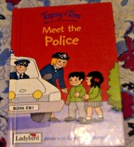 Topsy and Tim Meet the Police (Topsy & Tim) (Hardcover)-Jean Adamson, Ladybird