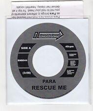 (GI306) Para, Rescue Me - 2008 DJ CD
