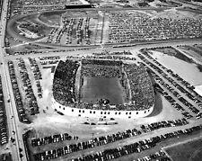 Billy Graham revival in 1950 USC Williams-Brice Stadium, Columbia Ariel photo