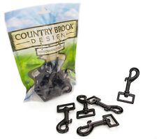 10 - Country Brook Design® 1 Inch Powder Coated Hook Snaps