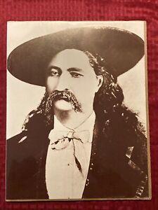 "James Butler ""Wild Bill"" Hickok 11x14 Photo Portrait Old West Collectors Series"