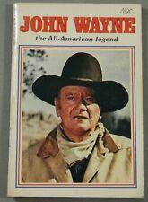 JOHN WAYNE THE ALL AMERICAN LEGEND DELL PURSE BOOK 4380 (1979)