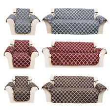 Quilted Water Resistant Sofa Cover Chair Couch Slipcover Pet Dog Protector Mat