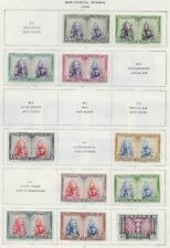 11 Spain Semi-Postal Stamps from Quality Old Antique Album 1928