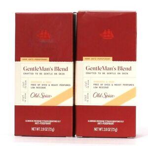 2 Ct Old Spice 2.6 Oz GentleMan's Blend Mandarin & Musk 48 Hour Antiperspirant