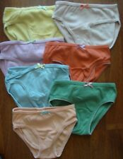 Girls BODEN Rainbow Colour Knickers Size 4-5 Years Cotton