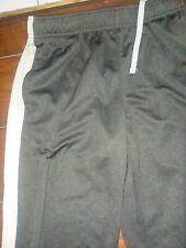 Old Navy boys black gray track gym exercise pants size large 10-12