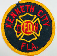 Kenneth City Fire Department Pinellas County Florida Patch