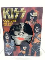 Vintage 1978 KISS PETER CRISS  HALLOWEEN COSTUME IN BOX