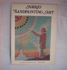 NAVAJO SANDPAINTING ART Booklet Treasure Chest Publications, 1978 / Tucson AZ