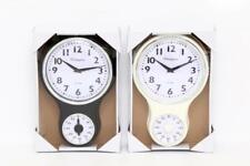 Retro Kitchen Cream / Black Vintage Kensington London Wall Clock With Timer