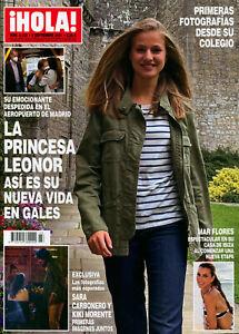 Hola Magazine Spain 2021 #4023 Leonor Princess of Asturias
