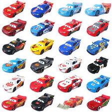 Disney Pixar Cars 2 & 3 Police Lightning McQueen 1:55 Toy Car Model Diecast
