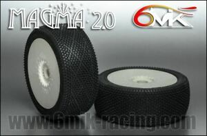 6MIK MAGMA 2.0 - PRE-GLUED - 1 CAR (2 PAIRS) - SEE WHEEL COLOUR AND COMPOUND OPT