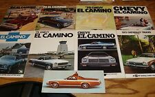 1973 1974 1975 1976 1977 1978 1979 1980 Chevrolet El Camino Sales Brochure Lot