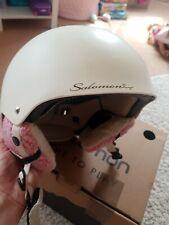 Salomon Womens ski Helmet In Cream S/M