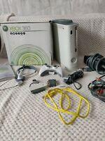 Boxed Microsoft Xbox 360 Pro 60GB Console + Controller + Accessories + Cables