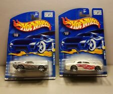 2001 Hot Wheels #112 Mustang Mach 1 & #117 Shoe Box   ■ Freebie Included■