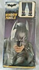 DC COMICS Batman The Dark Knight Window Panels - One Pair - 82 x 63 NOS