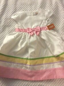 NEW WITH TAGS!  Gymboree Size 5T Pastel Easter Dress.