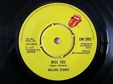 "The Rolling Stones Miss You A-1U B-3U UK 7"" EMI 2802 1978 EX"