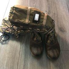 TOMMY HILFIGER * warme Winter-Stiefel * Gr. 37 * oliv / braun *Leder / Synthetik