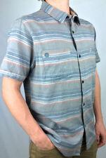 Billabong Short Sleeve 100% Cotton Casual Shirts for Men