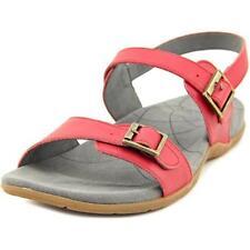 Sandali e scarpe rosse Sanita per il mare da donna