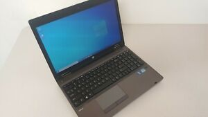 "HP ProBook 6570B 15.6"" Laptop i5-3320M CPU 4GB RAM 500GB HDD DVD-RW Win 10 Pro"