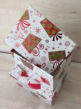 Geschenkkarton Weihnachten.Geschenkkarton Weihnachten Gunstig Kaufen Ebay