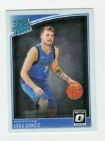 ROOKIE 2018-19 OPTIC #177 Luka Doncic   ROOKIE  HOT