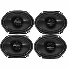 """Pioneer 2 PAIRS x TS-G6820S 6"""" x 8"""" 500W Max /80W RMS 2-Way Coaxial Car Speakers"""